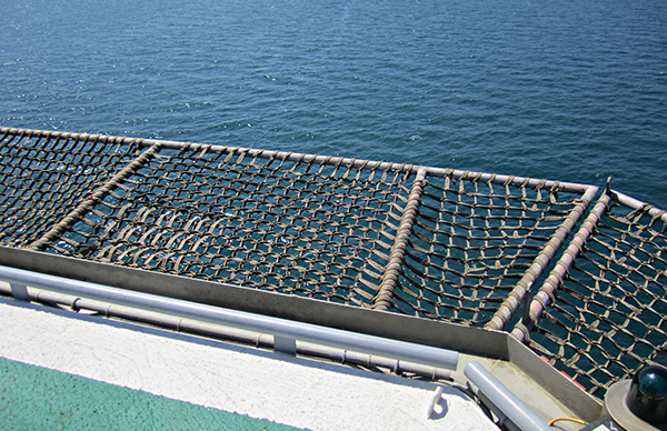 Perimeter Safety Net Frictape The Expert In Offshore